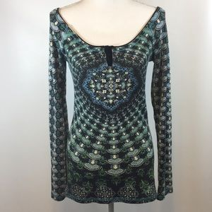 Free People Tops - NWOT Free People Thermal Henley T-Shirt